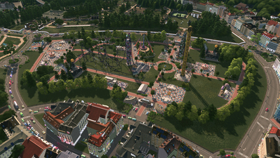 Cities: Skylines - Parklife Screenshot 5