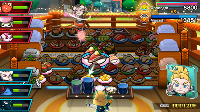 Sushi Striker: The Way of Sushido Screenshot 1