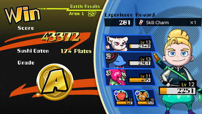 Sushi Striker: The Way of Sushido Screenshot 3