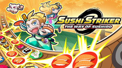 Sushi Striker: The Way of Sushido Masthead
