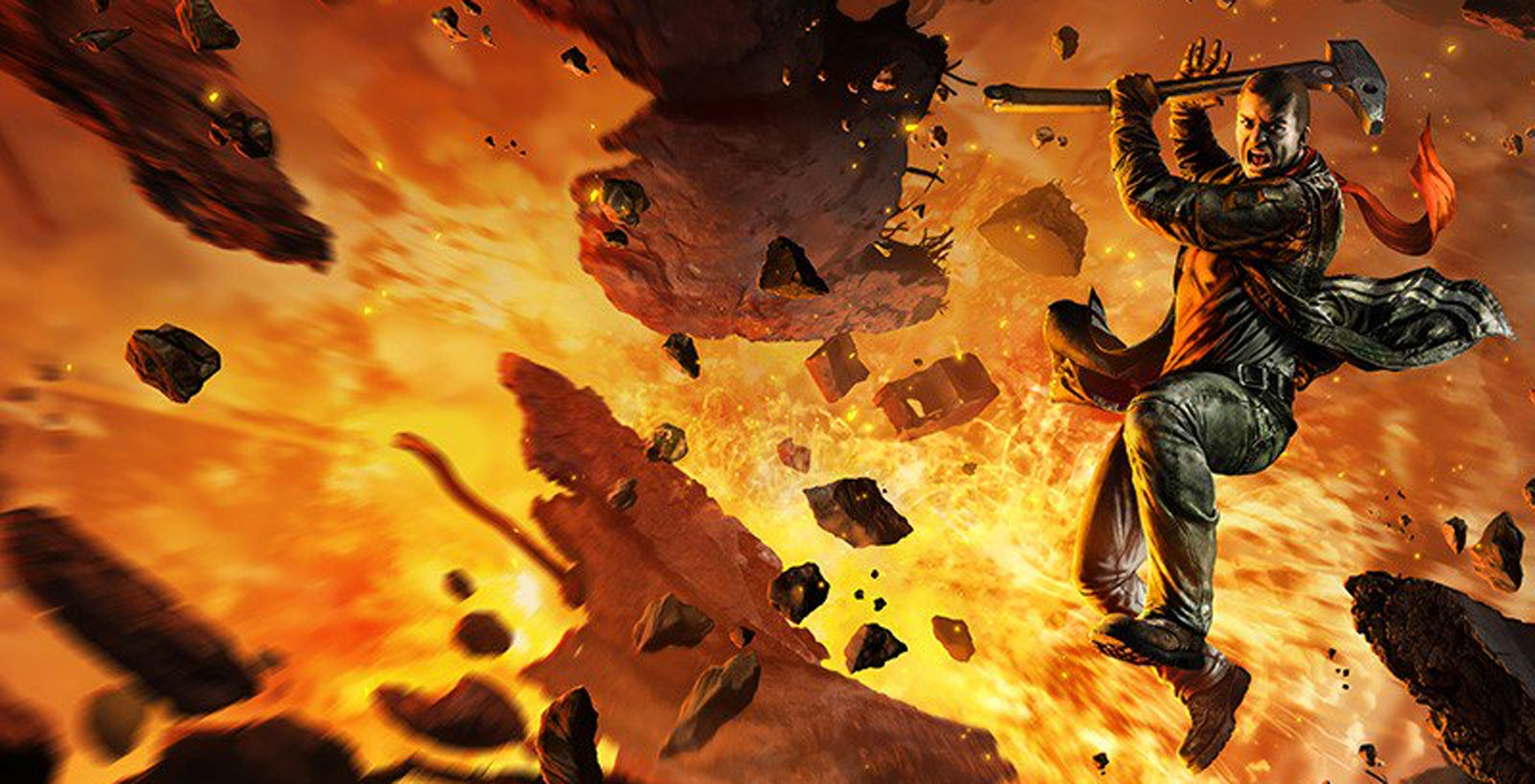 Red Faction Guerrilla: Re-Mars-tered Edition Masthead