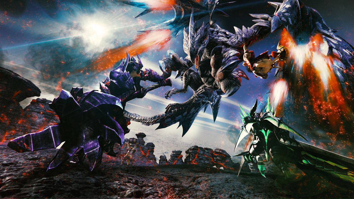 Monster Hunter Generations Ultimate Masthead