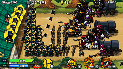 Samurai Defender: Ninja Warfare Screenshot 1