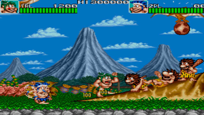 Johnny Turbo's Arcade Joe and Mac Caveman Ninja Screenshot 2