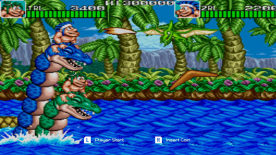 Johnny Turbo's Arcade Joe and Mac Caveman Ninja Screenshot 3