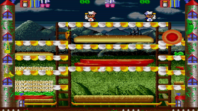 Johnny Turbo's Arcade: Super Burger Time Masthead