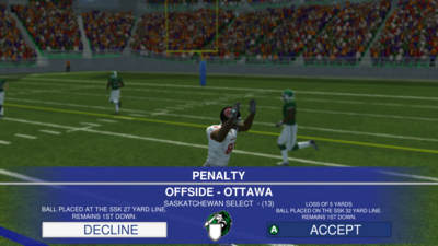 Canadian Football 2017 Screenshot 2