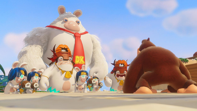 Mario + Rabbids: Kingdom Battle - Donkey Kong Adventure Screenshot 2