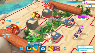Mario + Rabbids: Kingdom Battle - Donkey Kong Adventure Screenshot 4