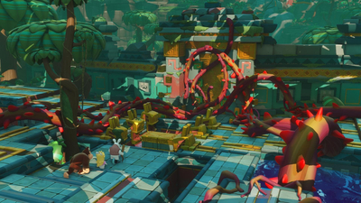 Mario + Rabbids: Kingdom Battle - Donkey Kong Adventure Screenshot 3