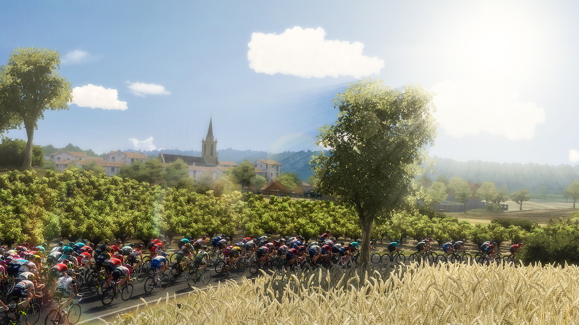 Pro Cycling Manager - Tour de France 2018 Masthead