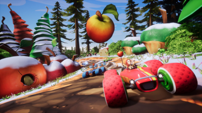 All-Star Fruit Racing Screenshot 2
