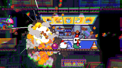 Bomb Chicken Screenshot 1