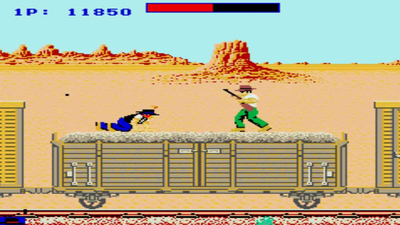 Johnny Turbo's Arcade: Express Raider Screenshot 3
