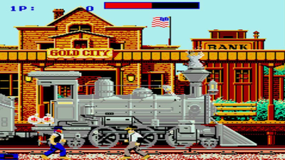 Johnny Turbo's Arcade: Express Raider Screenshot 1