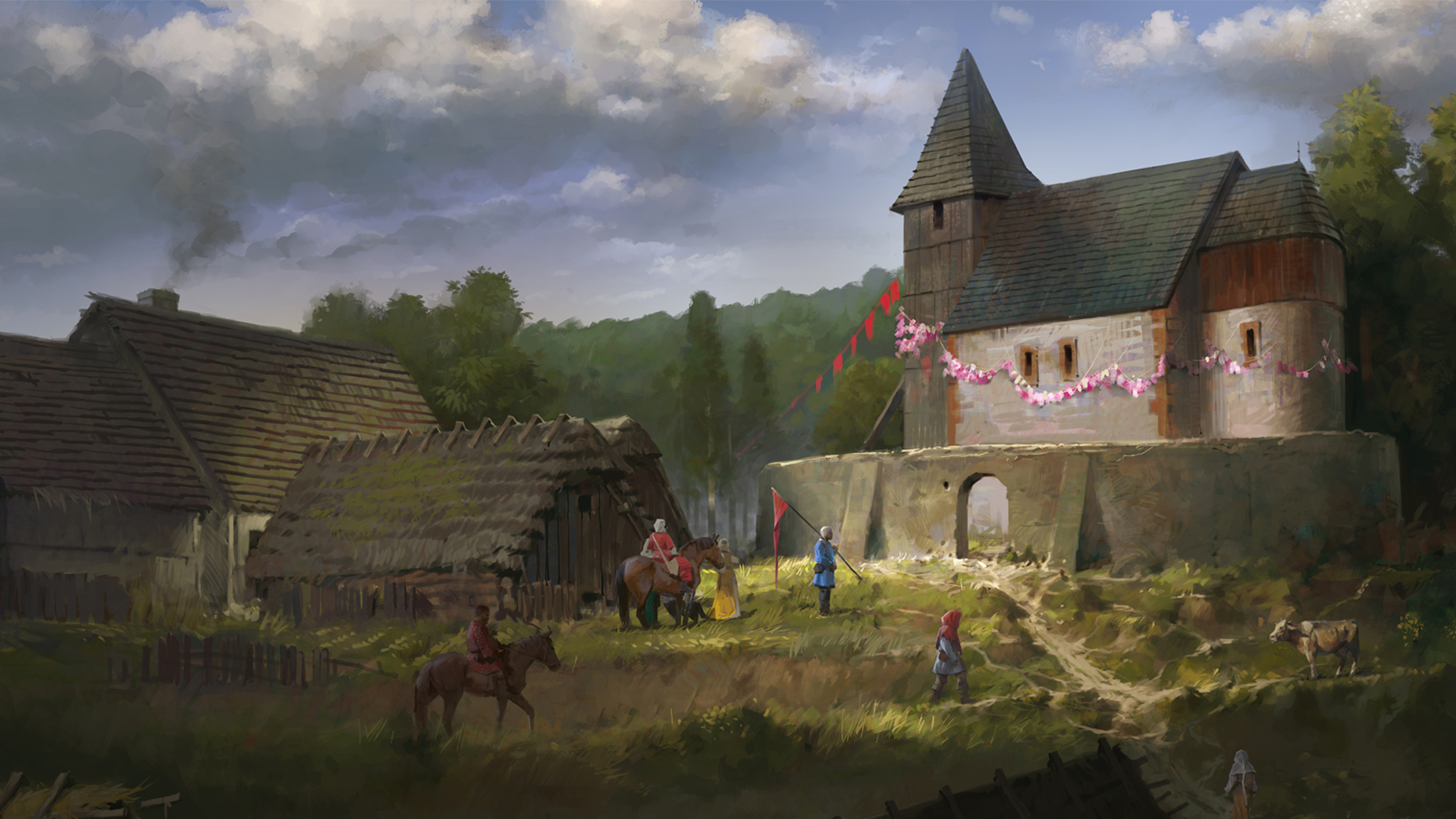 Kingdom Come: Deliverance - From the Ashes Masthead