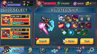 GALAK-Z: Variant S Screenshot 2