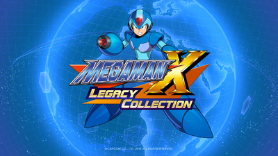 Mega Man X Legacy Collection Masthead