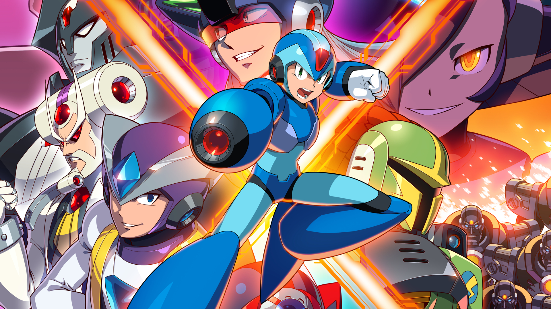 Mega Man X Legacy Collection 2 Masthead