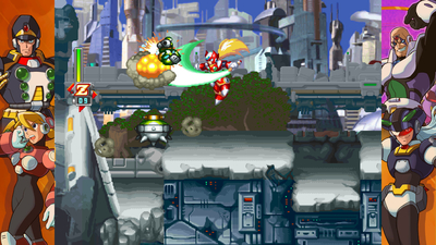 Mega Man X Legacy Collection 2 Screenshot 1
