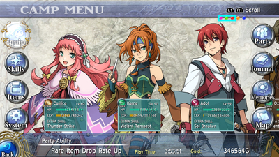 Ys: Memories of Celceta (PC Edition) Screenshot 4