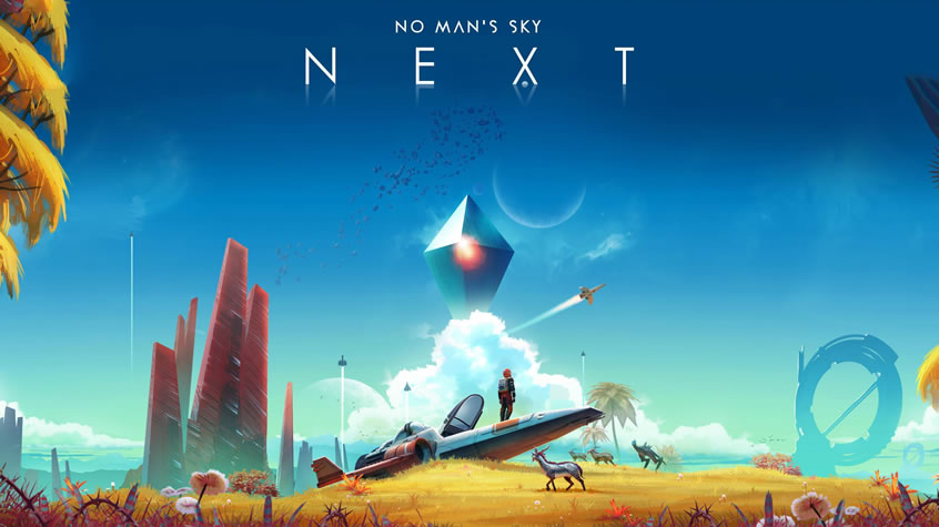 No Man's Sky - NEXT Masthead