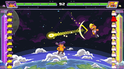Ultra Space Battle Brawl Screenshot 1
