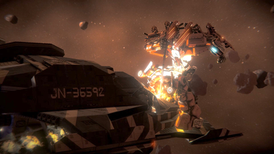 War Tech Fighters Screenshot 3