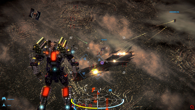 War Tech Fighters Screenshot 1