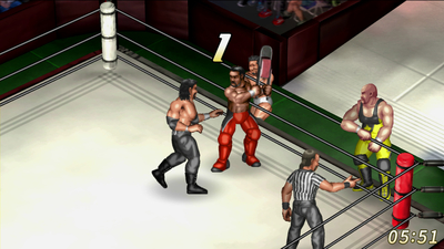 Fire Pro Wrestling World Masthead
