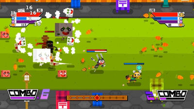 Ninjin: Clash of Carrots Screenshot 2