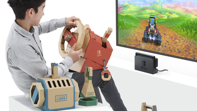 Nintendo Labo Vehicle Kit Screenshot 1