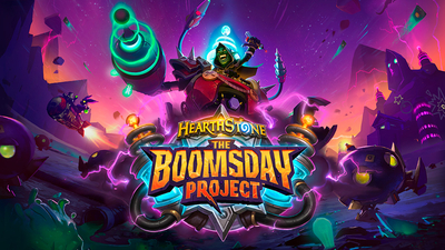 Hearthstone: The Boomsday Project Masthead