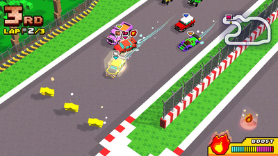 Chiki Chiki Boxy Racers Screenshot 1