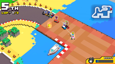 Chiki Chiki Boxy Racers Screenshot 2