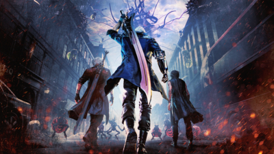Devil May Cry 5 Masthead