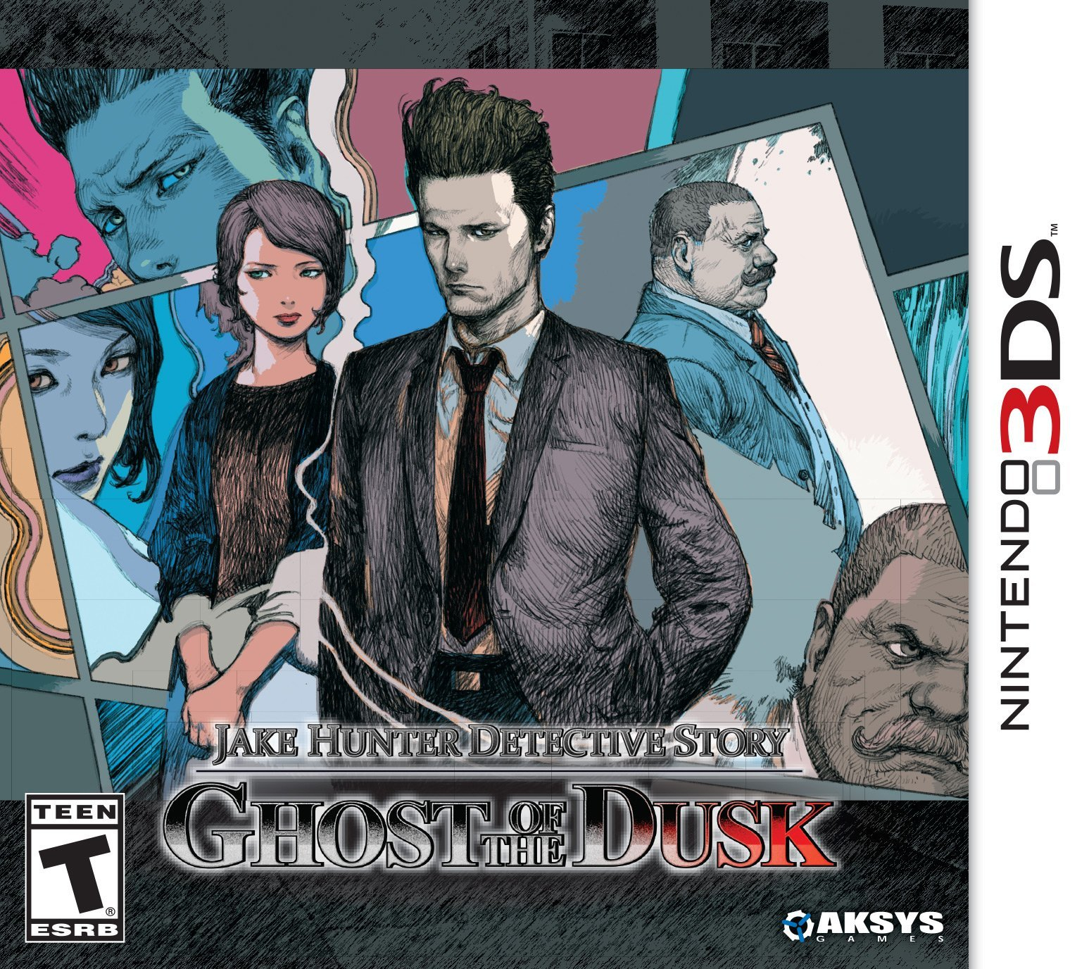 Jake Hunter Detective Story: Ghost of the Dusk Masthead