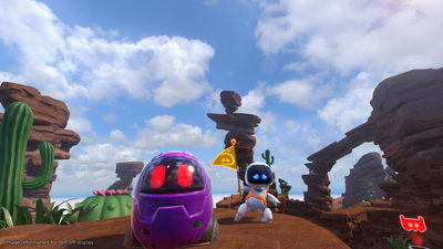 Astro Bot Rescue Mission Screenshot 2