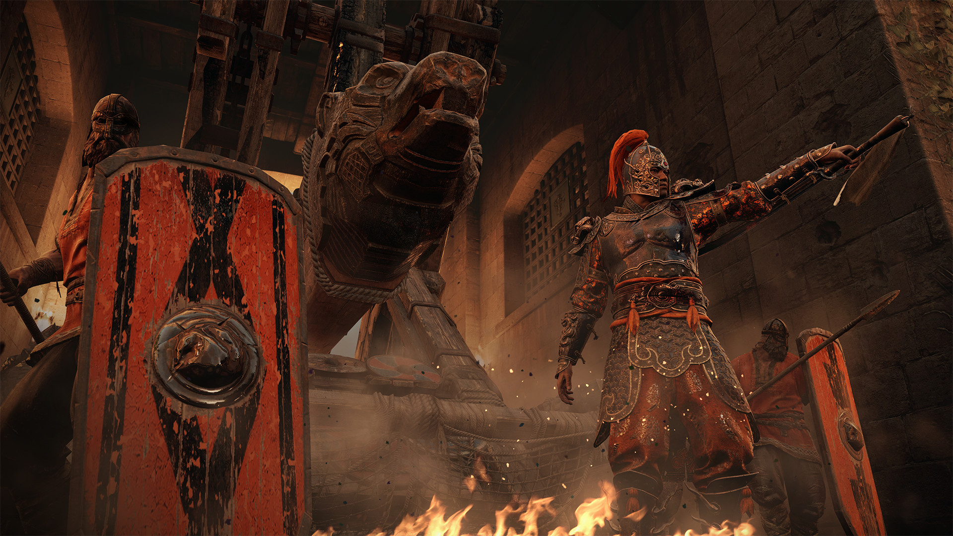 For Honor: Marching Fire Masthead