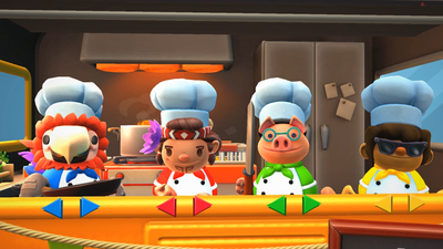 Overcooked 2 - Surf 'n' Turf Screenshot 1