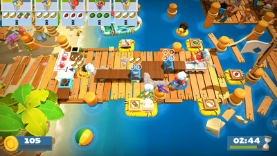 Overcooked 2 - Surf 'n' Turf Screenshot 2