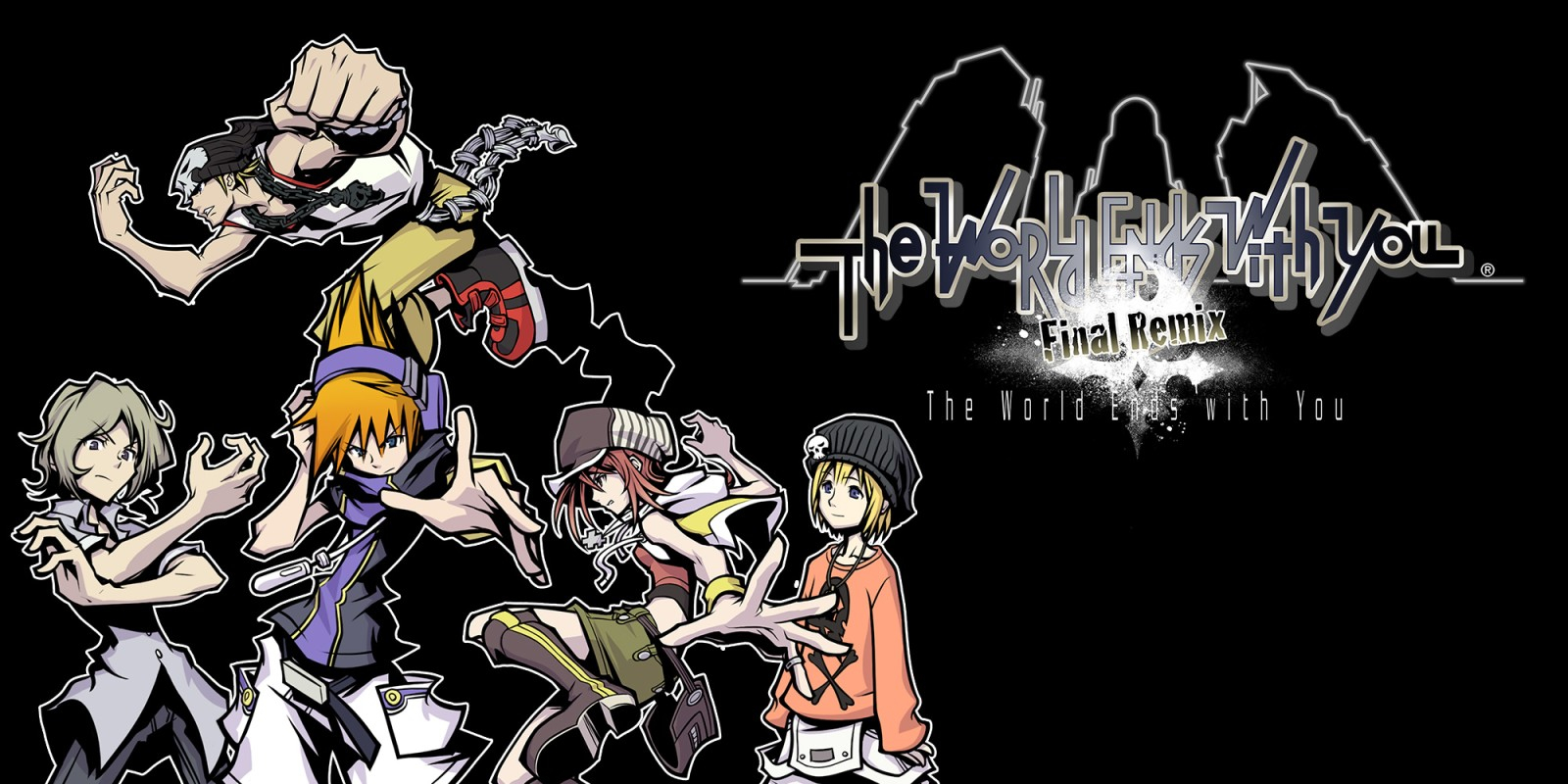 The World Ends With You: Final Remix Masthead