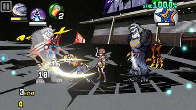The World Ends With You: Final Remix Screenshot 2