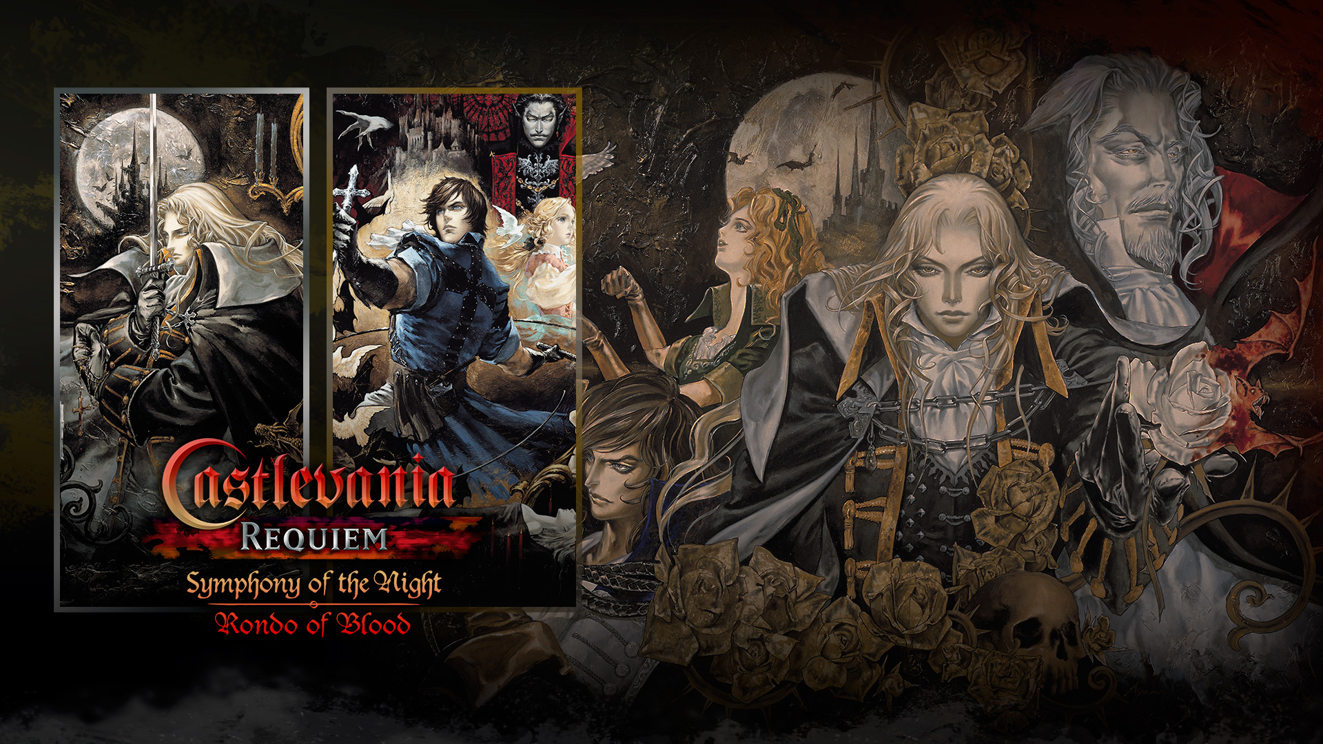 Castlevania Requiem: Symphony of the Night & Rondo of Blood Masthead