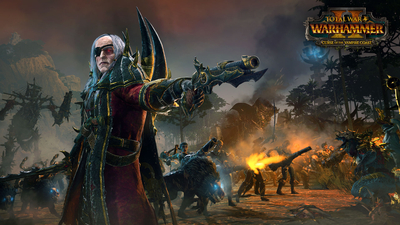 Total War: WARHAMMER II - Curse of the Vampire Coast Masthead