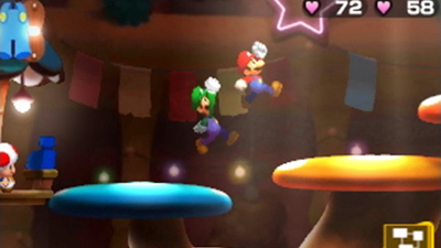 Mario & Luigi: Bowser's Inside Story + Bowser Jr.'s Journey Screenshot 2