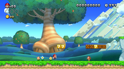 New Super Mario Bros. U Deluxe Screenshot 1