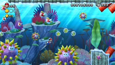 New Super Mario Bros. U Deluxe Screenshot 3