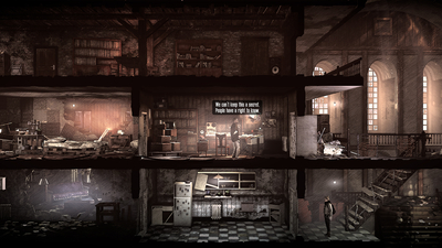 This War of Mine: The Last Broadcast Screenshot 1
