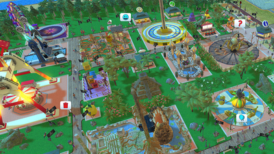 Rollercoaster Tycoon Adventures Screenshot 5